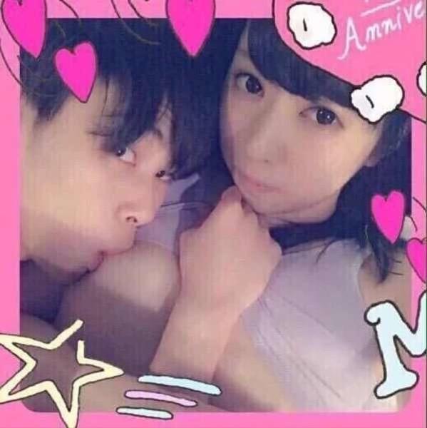 なぜ写真撮った?? 就活アイドル、男に乳吸われてる写真が流出し謝罪:コメント1
