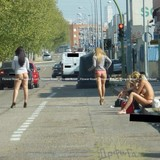 欧米の路上売春婦、これは