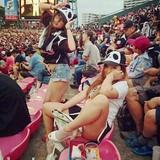 AV女優が野球観戦をするとこうなります