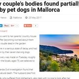 夫急死に認知症の妻、なす術なく衰弱死 飼い犬は彼らを食べて飢えをしのぐ(スペイン)