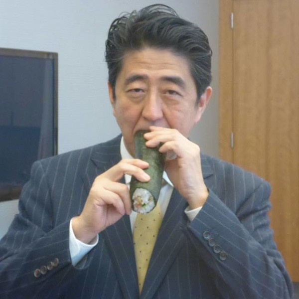 安倍昭恵夫人が安倍首相の冴えない画像を投稿 批判コメントも消さない謎:コメント11