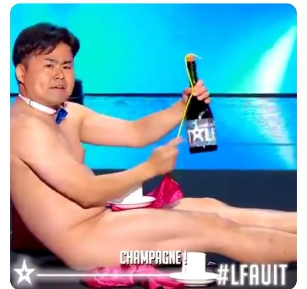 フランスの超人気番組で日本人が全裸で爆笑とる:コメント5