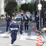 白昼のJR京橋駅近くで刃物男が抵抗、警察官発砲
