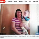 「臓器提供用に子供を売ります」ネット広告に掲載された母子写真の真相(露)
