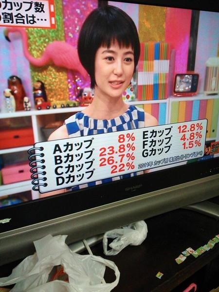 日本人女性のブラジャーのカップ毎の内訳wwwww:コメント2